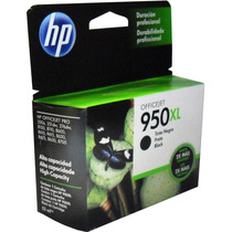 Cartucho Tinta Hp 950xl Negro Original Cn045al Officejet Pro
