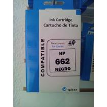 Carucho Hp 662 / 122 Negro / Color