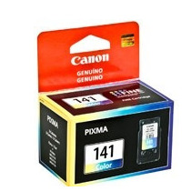 Cartucho Canon Cl-141 Color P/ Pixma Mg2110,mg3110,mg4110