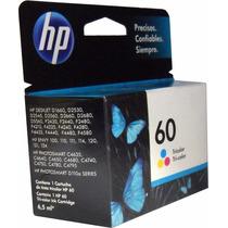 Cartucho Tinta Hp 60 Color Original Cc643wl Para D1660 D2530