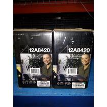 Cartucho Original Lexmark 12a8420 Para Impresoras T430