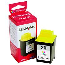 Cartucho Original Lexmark 20 15m0120 Tricolor Nuevo