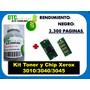 Kit Toner Y Chip Xerox 3010/3040/3045 Rm4