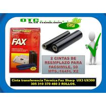 Cinta Transferencia Térmica Fax Sharp Ux3 Ux300 305 310