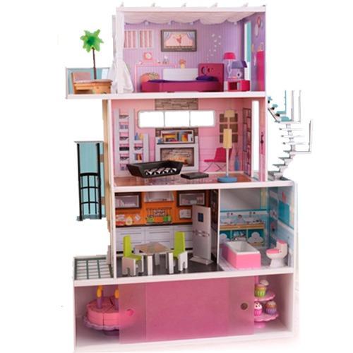Casa casita para mu ecas kidkraft mansion juguete pm0 - Juguetes en casa ...