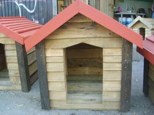 Fotos de casas para perros imagui Casas para perros de madera