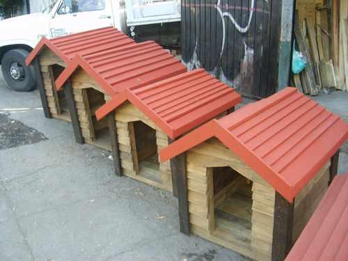 Como hacer casas de perro de madera imagui Casas para perros de madera