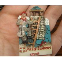 Miniatura Recuerdo De Savoie Francia Amuleto Buena Suerte