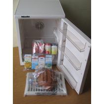 Refrigerador De La Barbie, Juguete Para Niña Mayor 3 Años