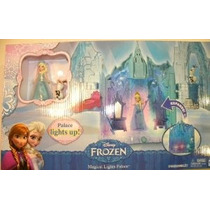 Disney Congelado Luces Mágicas Palacio Con Elsa Y Olaf