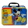 Disney Junior Mickey Mouse Rectangular Caja De La Lata Con M