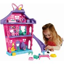Disney Minnie & Daisy Casa De Fiesta Pijamas Fisher Price !