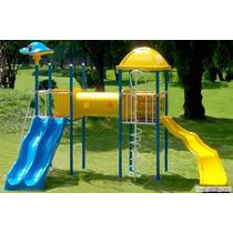 Planos Para Construir Juegos Infantiles, Tobogan, Hamacas