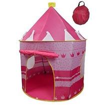 Carpa Princesa Castillo Niñas Al Aire Libre Rosa Juego De In