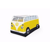 Casa De Camping En Forma De Camper Van Color Amarilla Para N