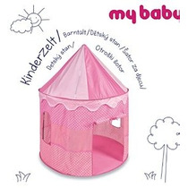 Pink Polkadot Princesa Emergente Jugar Carpa Castillo De Pop