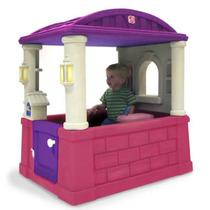 Casita Juego Casa Infantil Niñas Step2 Rosa Pm0