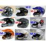 Casco Bmx Moto Motocross Monster Rockstar Racing Envío Grati