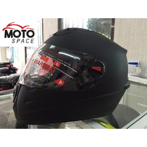 Casco Mass By Shiro Negro Mate Talla M
