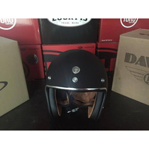 Casco Moto Torc 3/4 T50 Todas Las Tallas Negro Mate No Bell
