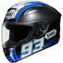 Tb Casco Para Moto Shoei Montmelo Marquez X-twelve