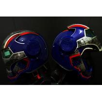 Casco Iron Man Iron Patriot Masei Para Moto Nuevo Talla M
