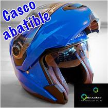 Casco Abatible Winmex Cert Dot C/lentes Dif Colores Xl