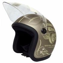 Casco 3/4 Hanmi Flywheel Oro