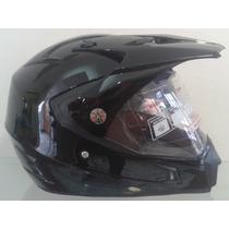 Casco Moto Cross Hibrido Lente Int. / Motocross, Motoneta