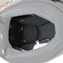 Agv Grid/t-2 Reemplazo Helmet Liner Negro 2xl
