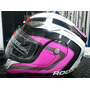 Casco Roda Abatible Rosa