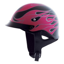 Hjc Cs-crucero Burn Out Berry / Rosa / Negro Xs