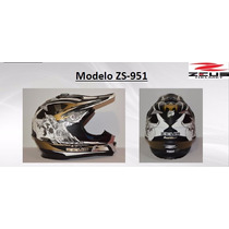 Casco Zeus Z S 951 Motocross Lg Md Xl Msi