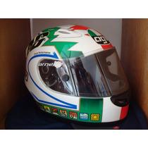 Cascos Agv Version S4 Y Rossi Replica Originales Motomaniaco