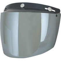 Tres Afx-snap Visor / Silver Shield One Size