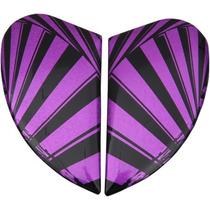 Icon Airmada Placas Laterales Spaztky Púrpura