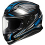 Casco Integral Shoei Rf-1200 Dominance Azul