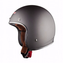 Ls2 Helmets Of583 Bobber Solid Open Face Helmet