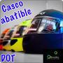 Casco Abatible Winmex Dot Tallas, Colores Con Lentes Nuevo!