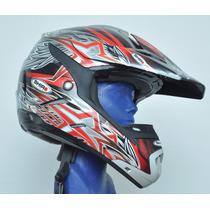 Casco Croos Para Motocicleta Certificacion Dot Ece M