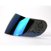 Agv S4/ti-tech/xr2/stealth/q3/ghost Shield Iridium Azul
