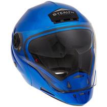 Tb Casco Stealth Metallic Blue Phantom Convertible Helmet