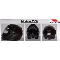 Casco Zeus 3500 Fibra De Carbón Negro Lg Md Xl Msi