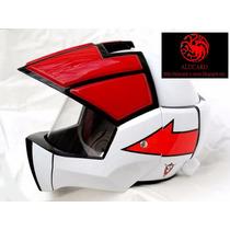 Casco Moto Robotech / Macross Rick Hunter