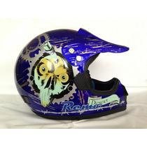 Casco Tipo Motocross Enduro Downhill