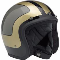 Casco Biltwell 3/4 Bonanza Le Fury Para Conducir En Moto
