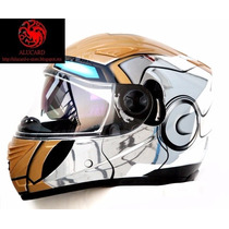 Casco Moto Ironman