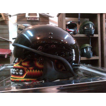 Casco Torc Half Shelf Usa Flag Media Nuez Sons Of Anarchy