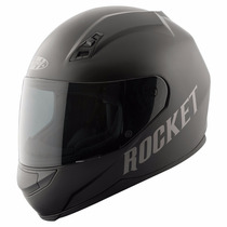 Casco Para Motos Joe Rocket Rkt700 Solid Black