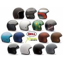 Casco Bell Custom 500 Cara Abierta 3/4